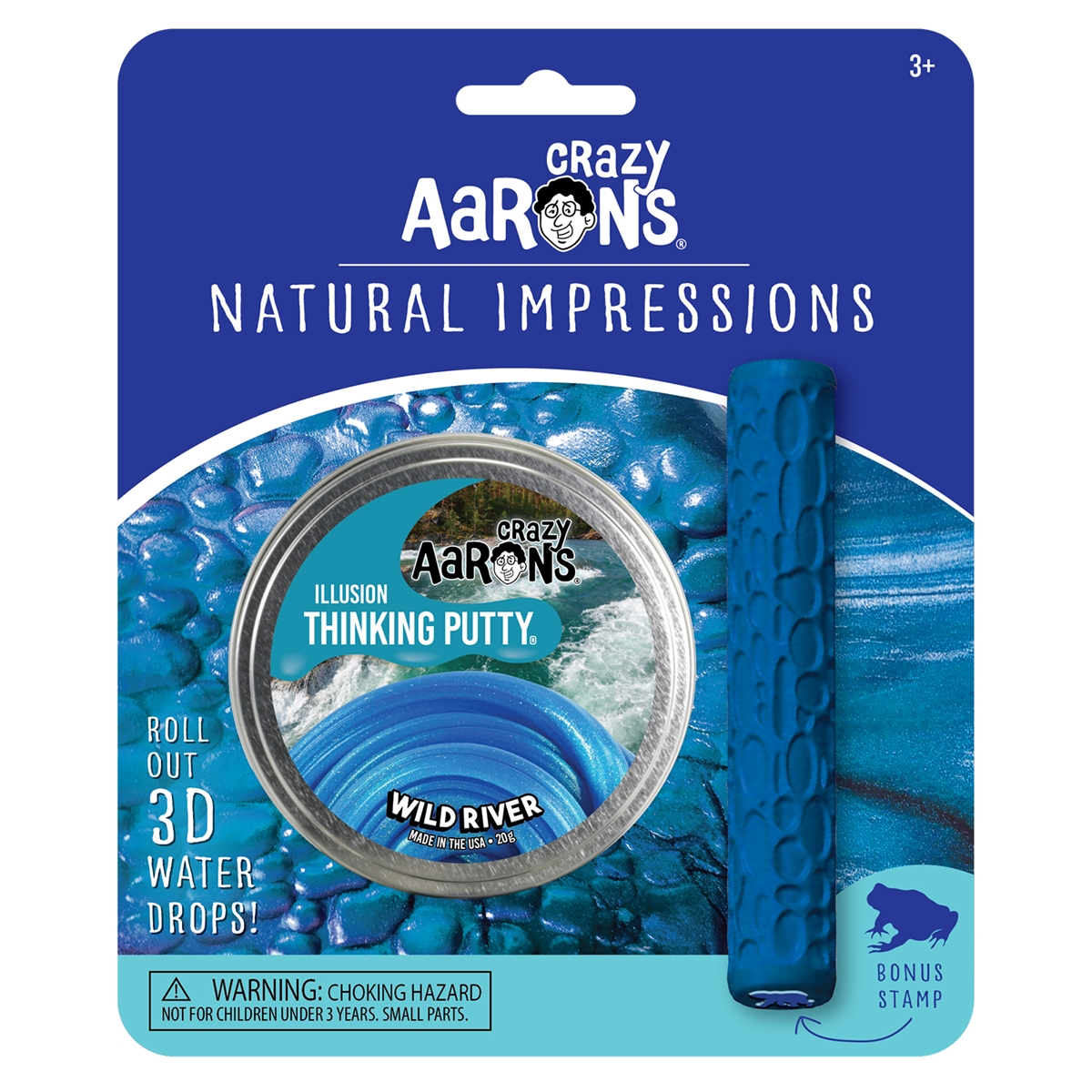 Natural Impressions Wild River Thinking Putty