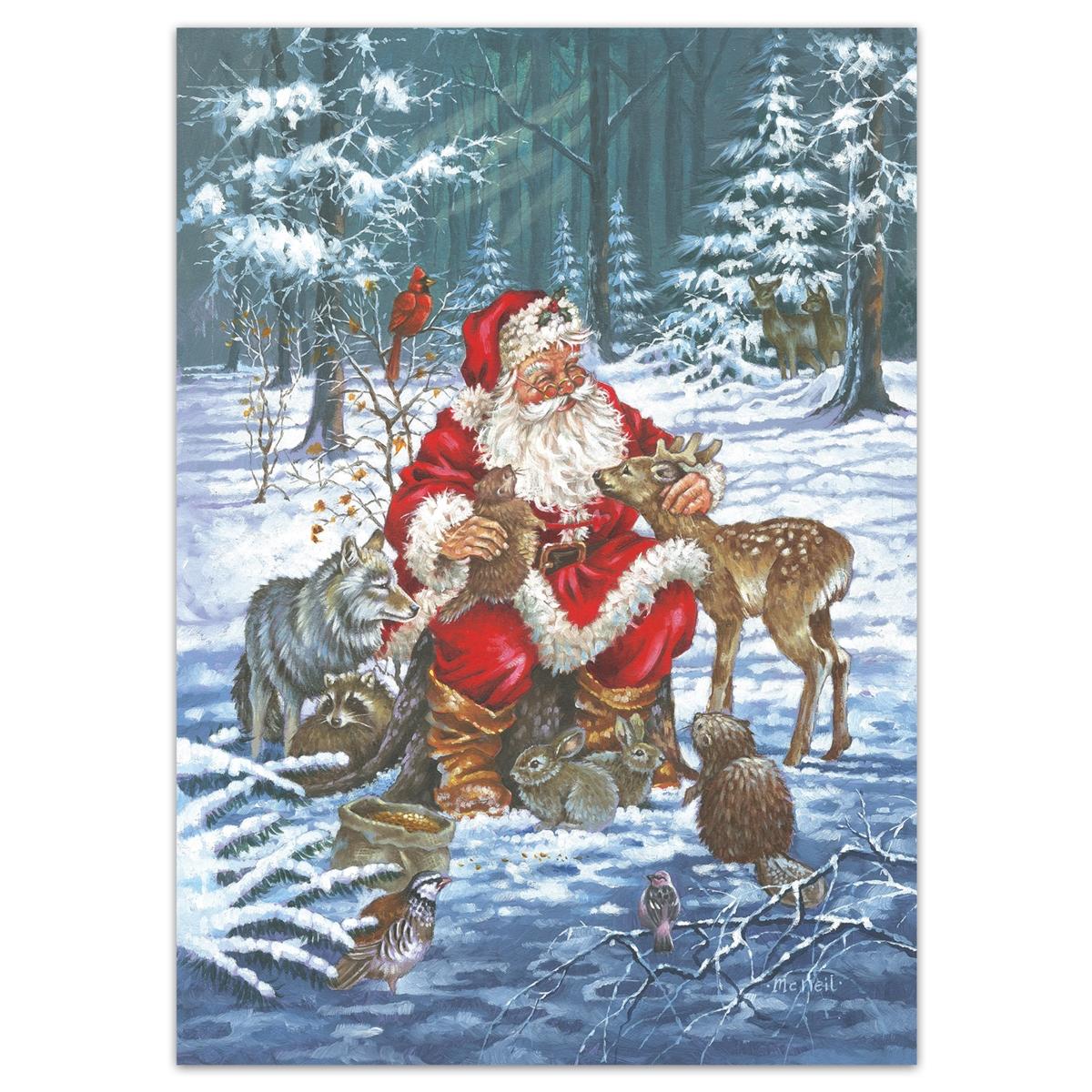 National Wildlife Christmas Cards 2021 Wildlife Santa Holiday Cards The National Wildlife Federation