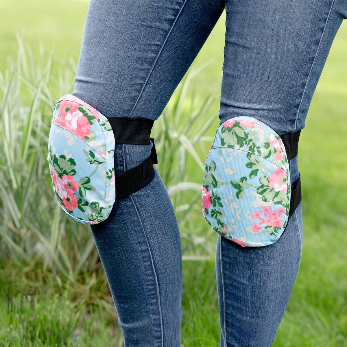 Rose Print Gardening Knee Pads