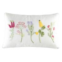 Botanical Ribbon Pillow