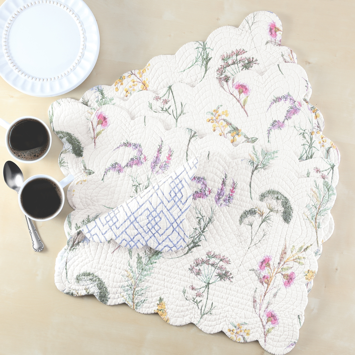 Genevieve Quilted Placemats