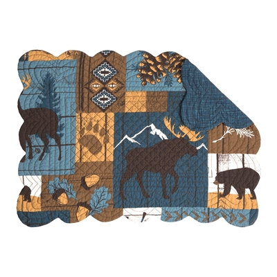 Woodland Trails Quilted Placemats