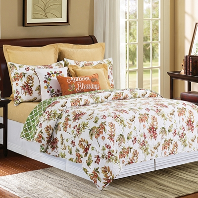 Fall Favorites Quilted Bedding Set