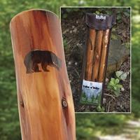 Bear Silhouette Walking Stick