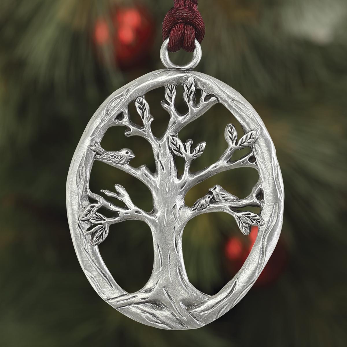 Bird on Tree Branch Plant a Tree Ornament