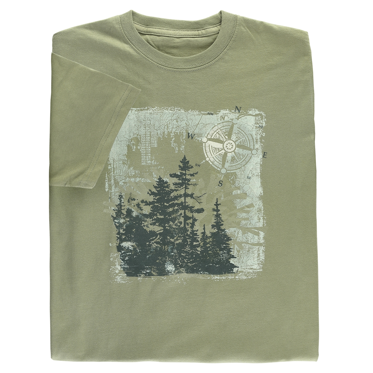 Forest Trees Organic Tee