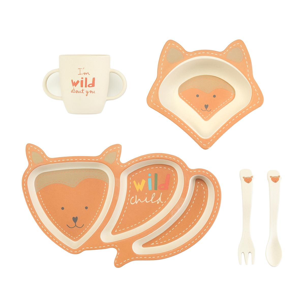 Finley the Fox Dinner Set