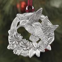 Hummingbirds Plant a Tree Ornament