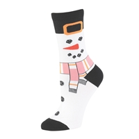 Frosty Holiday Socks