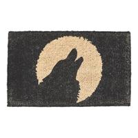 Howling Wolf Coir Mat - Standard Size