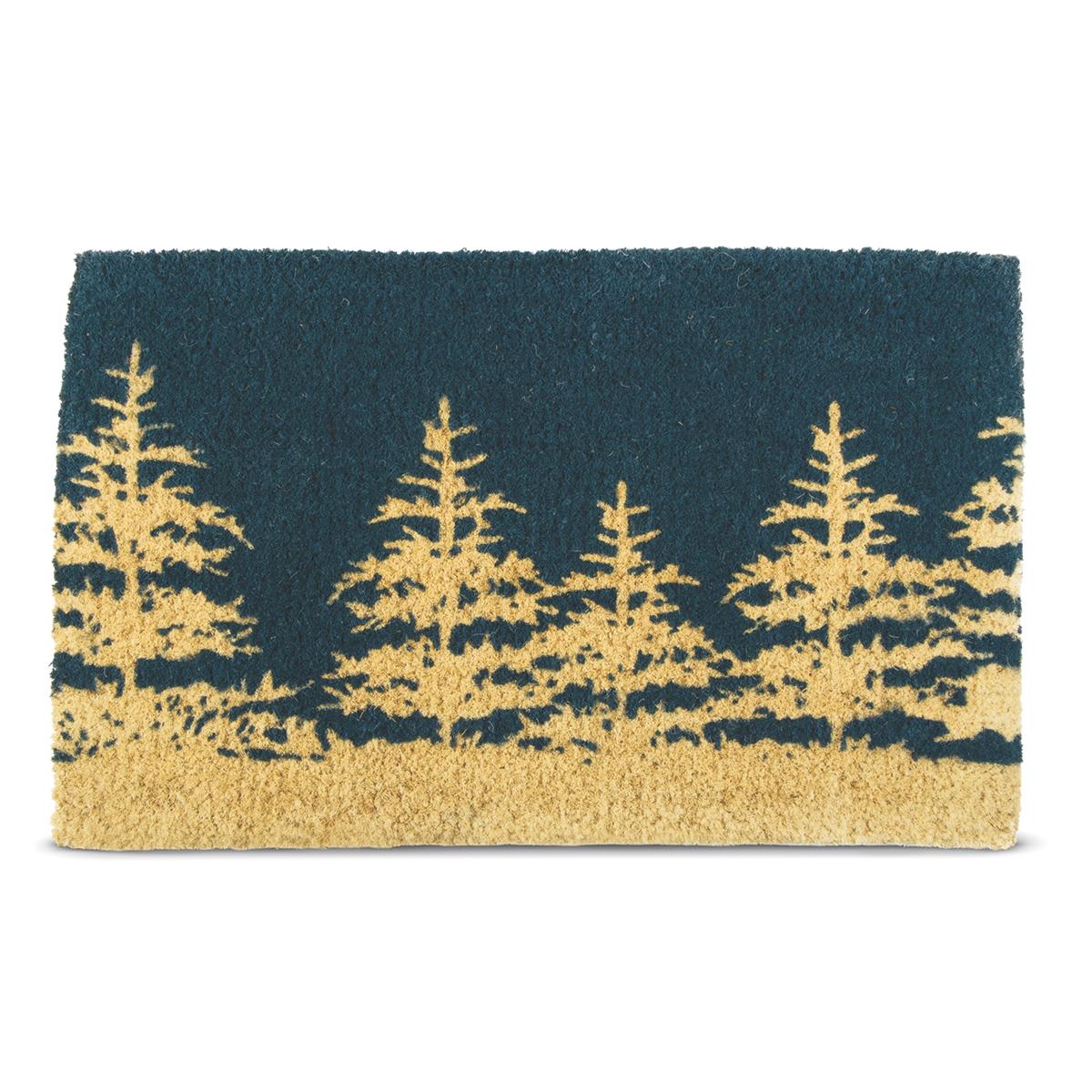 Winter Tree Coir Mat