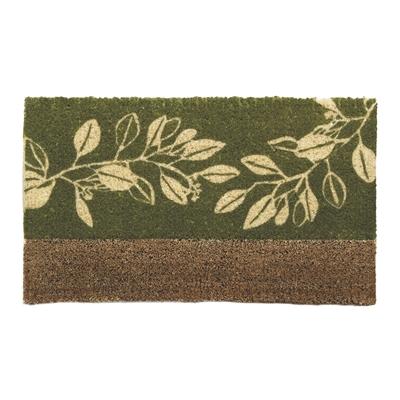 Trailing Leaves Coir Mat