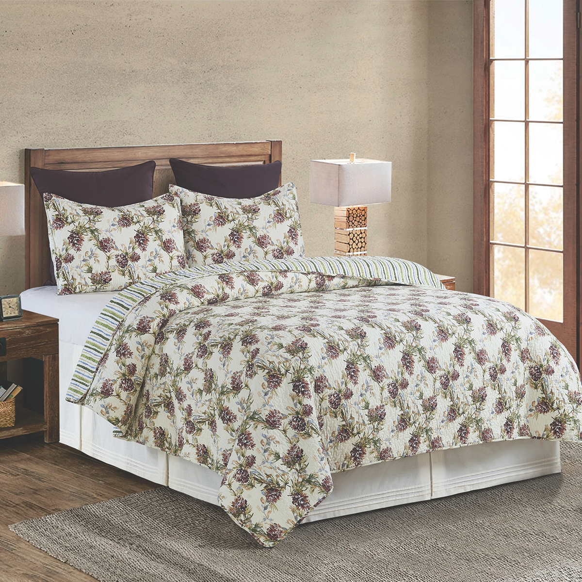 Cooper Pines Quilted Bedding Set