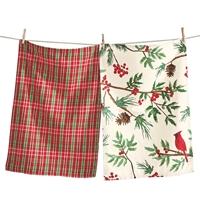 Winter Cardinals Towel Set
