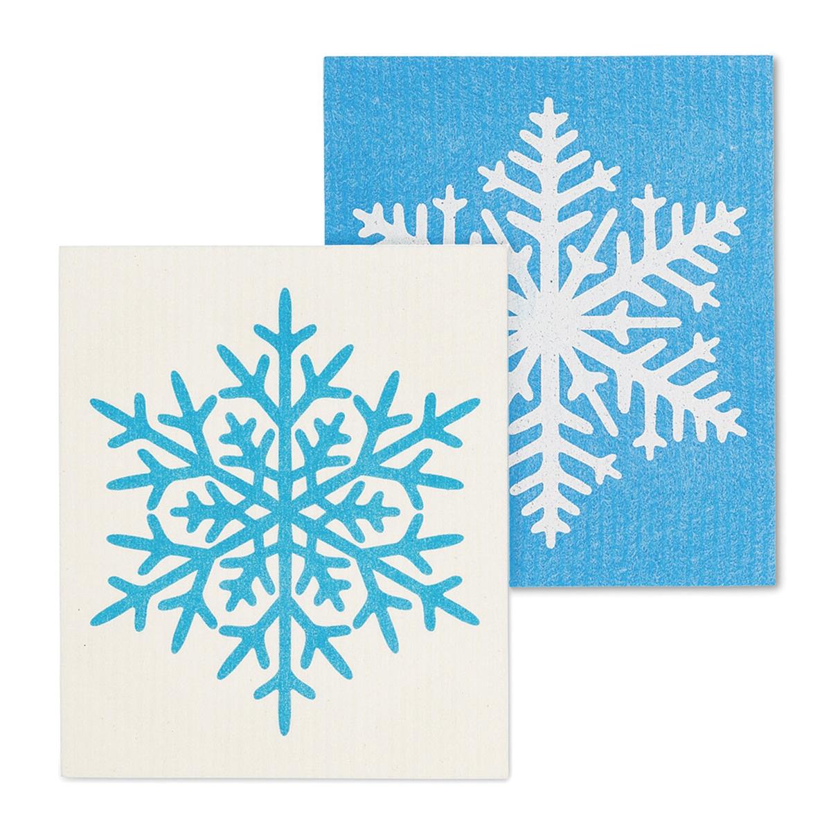 Snowflake Swedish Dish Cloth Set
