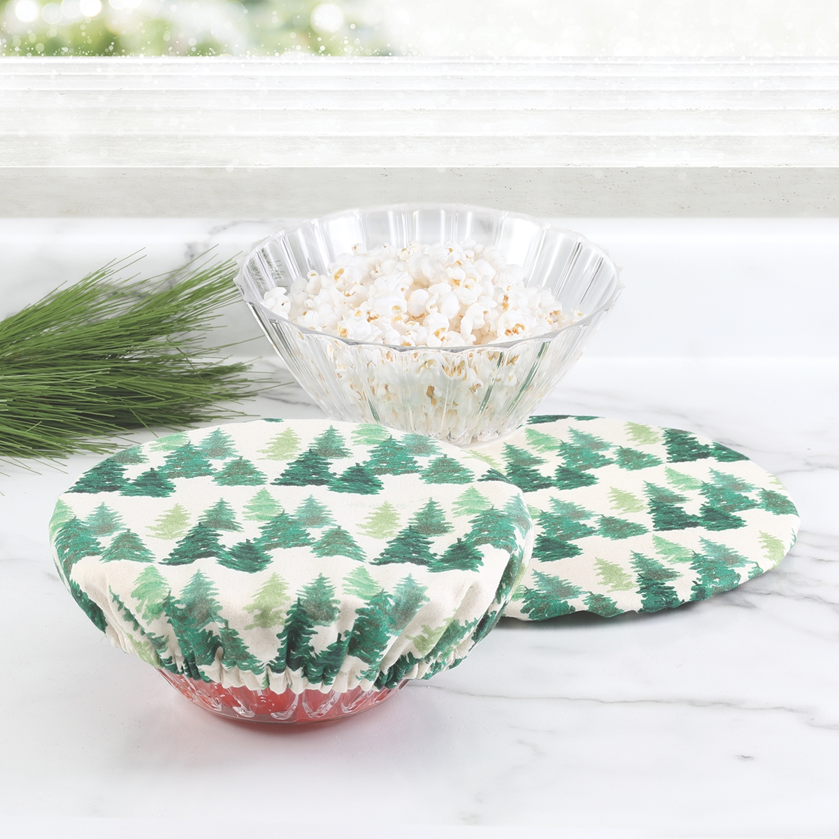 Forest Reusable Bowl Covers