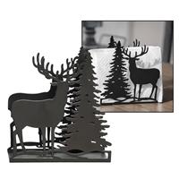 Deer and Tree Napkin Holder