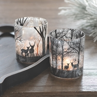 Woodland Scenes Candle Holders