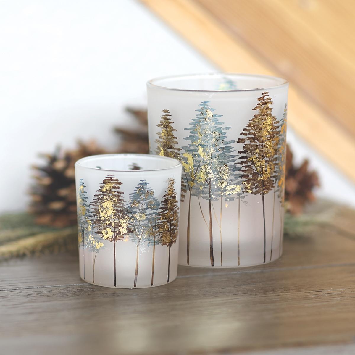 Tree Candle Holder Set