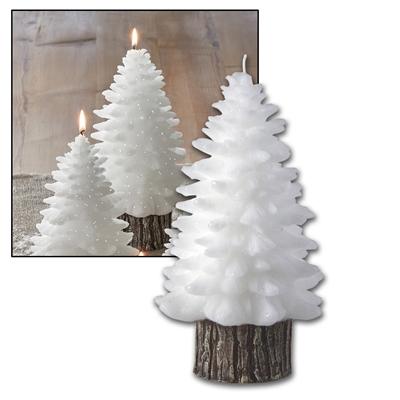 Large Molded Tree Candle