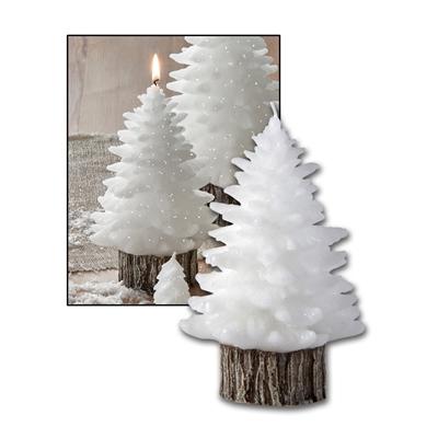 Medium Molded Tree Candle