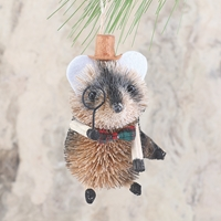 Mouse Woodland Buri Ornament