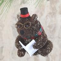 Brown Bear Woodland Buri Ornament