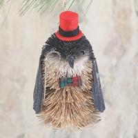 Penguin Woodland Buri Ornament