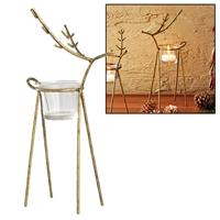 Reindeer Candle Holder Medium