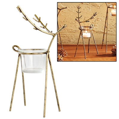 Reindeer Candle Holder Small