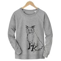 Fox Sketch Pullover
