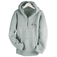 Woodland Trees Sherpa Pullover