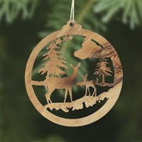 Deer in the Forest Ornament