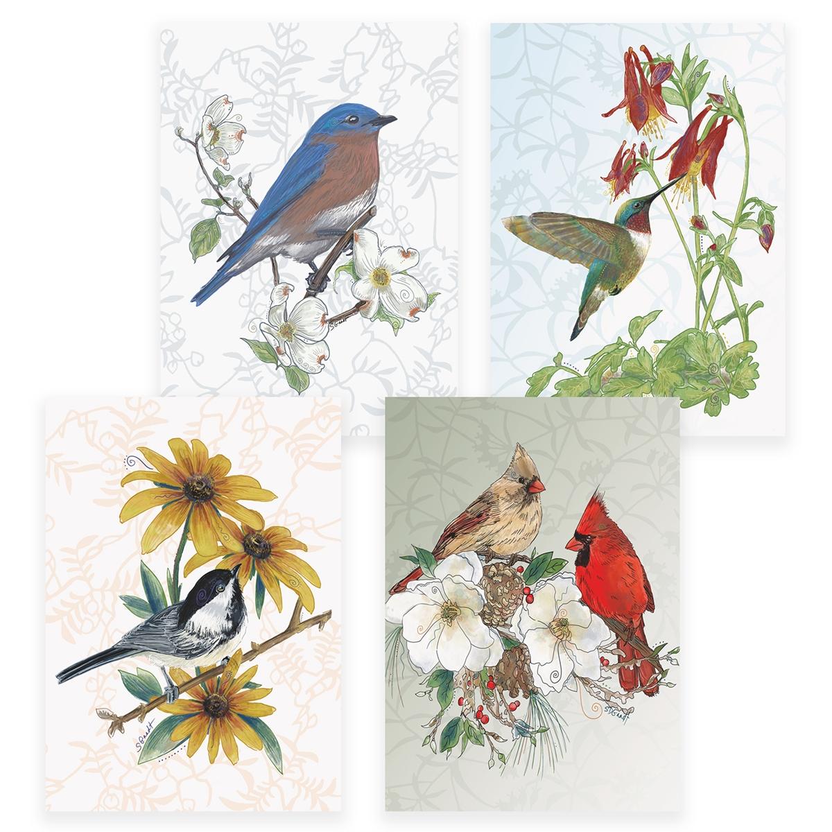 Bird Assortment Card Set