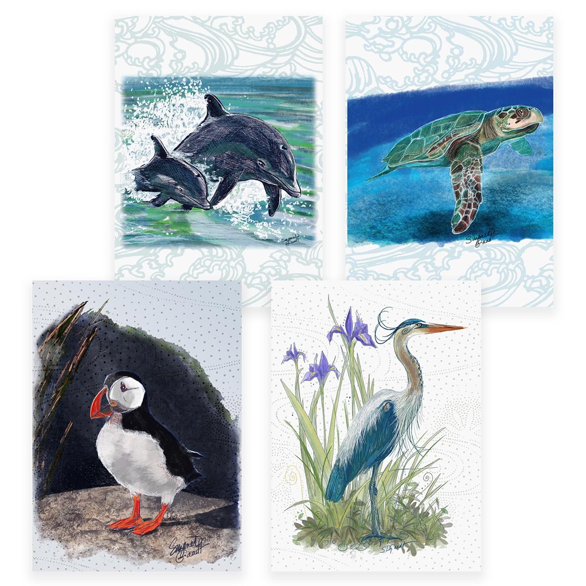 Wildlife Assortment Card Set