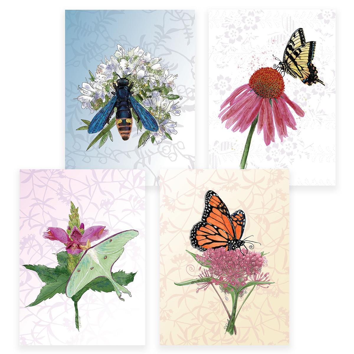 Pollinator Assortment Card Set
