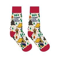 Camp Life Crew Socks