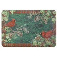 Cardinal Wreath Coir Mat