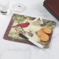 Cardinal Cheese Board and Spreader
