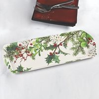 Holly and Berries Tray