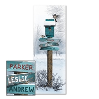 Winter Day Personalized Print