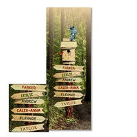 Forest Path Personalized Print