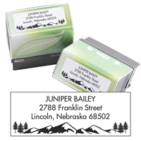Mountain and Trees Self-inking Stamp