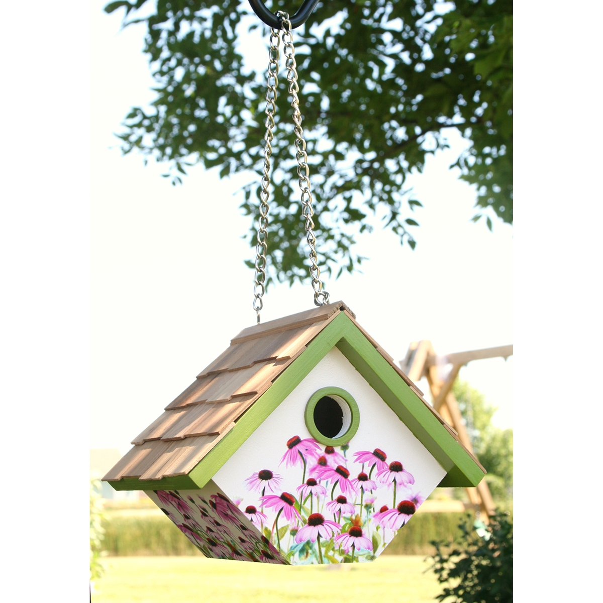 Coneflower Wren Nesting Box