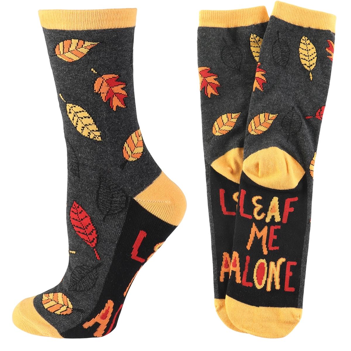 Leaf Me Alone Socks