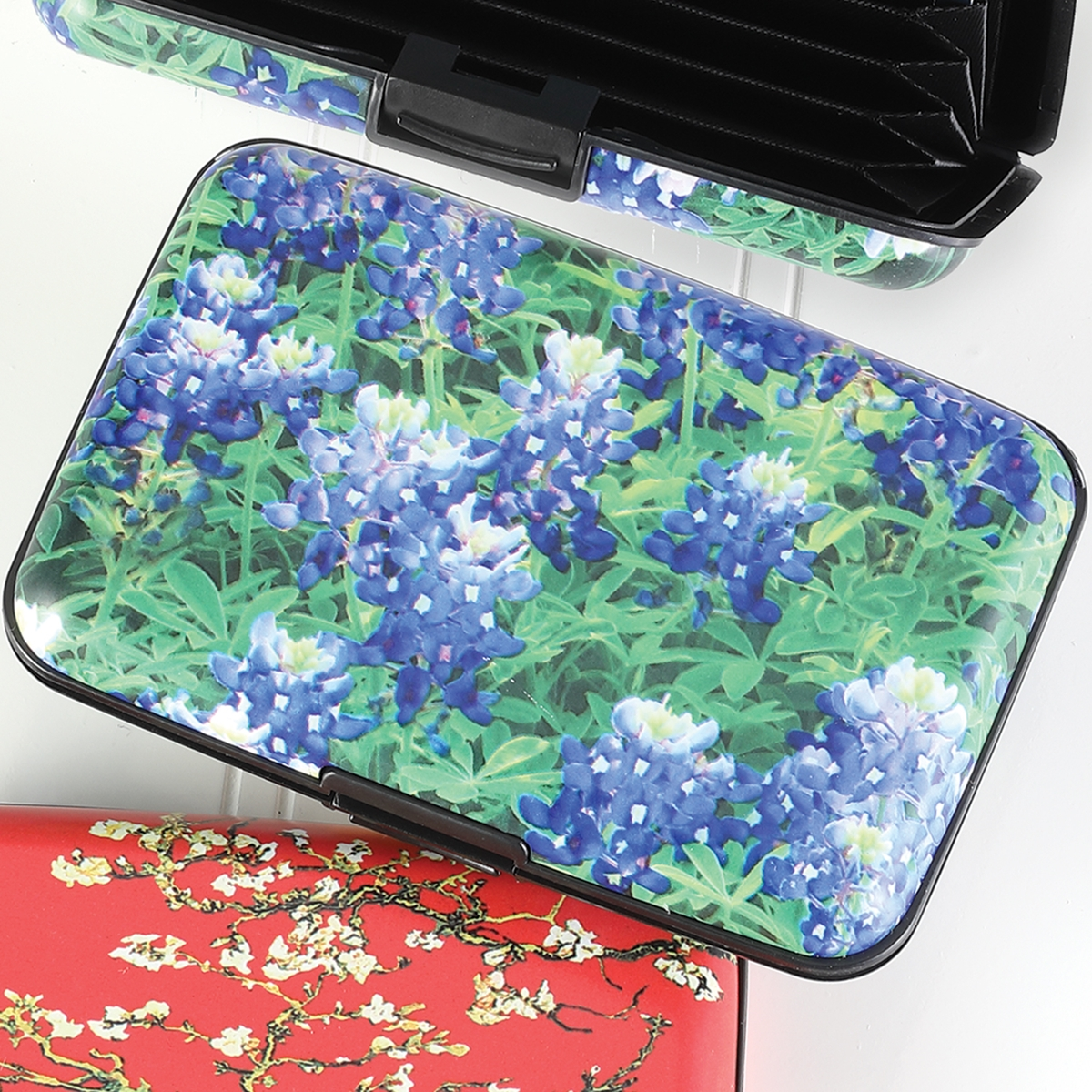 Blue Bonnets Armored Wallet