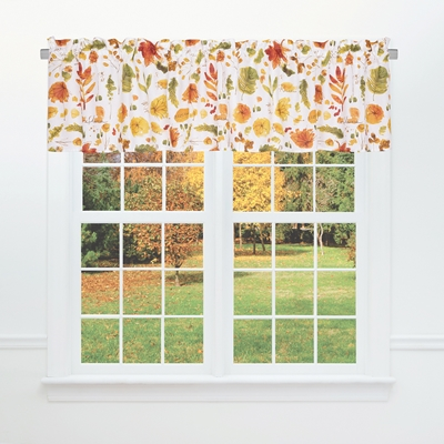 Fall Leaves Valance