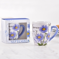 Birthday Flower Mug - September