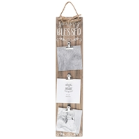 Simply Blessed Clip Photo Board
