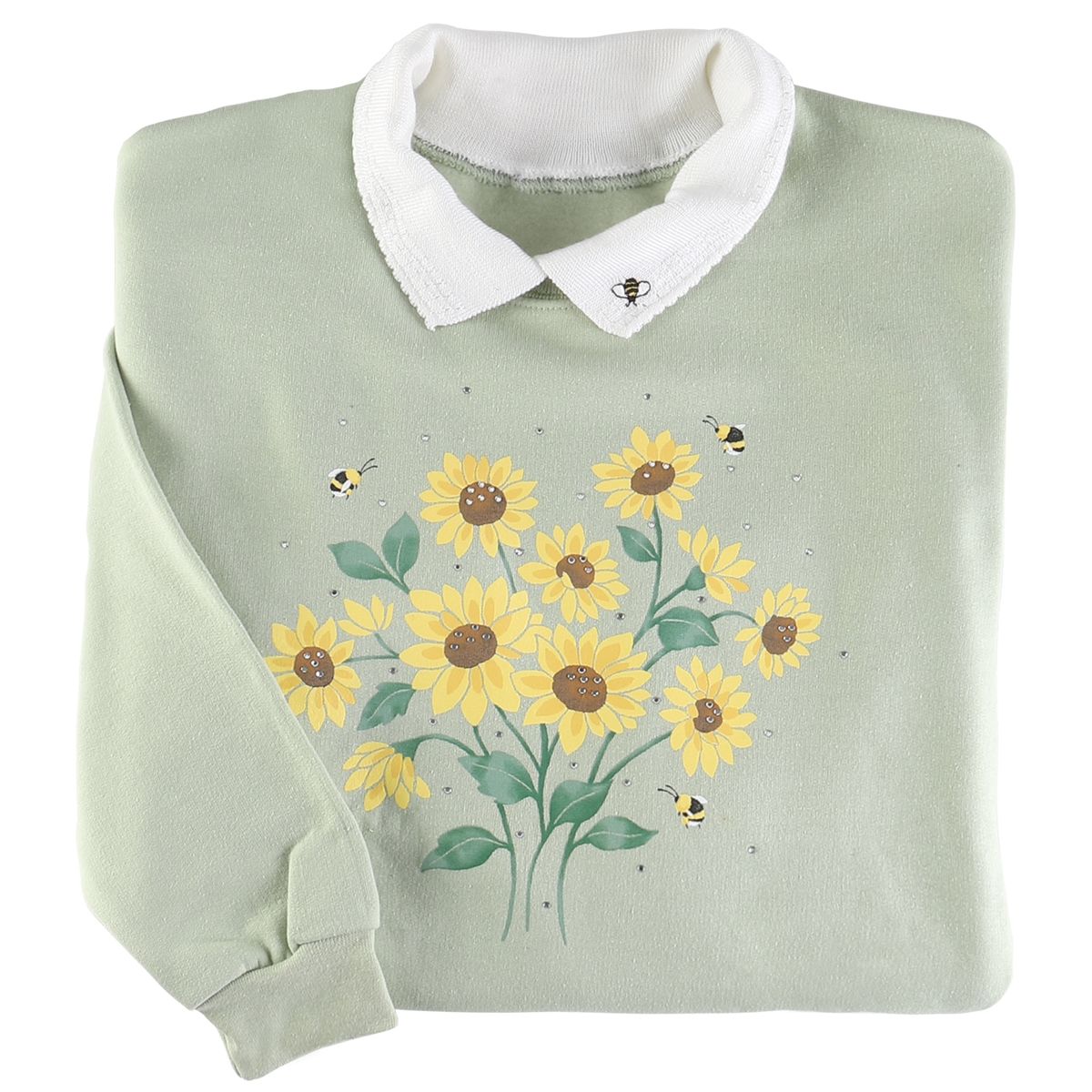 Bee Bouquet Pullover